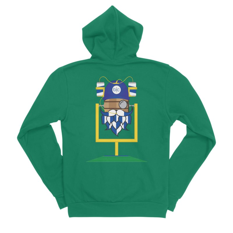 Tailgate Hoppy Men's Sponge Fleece Zip-Up Hoody by Barrel Chat Podcast Merch Shop