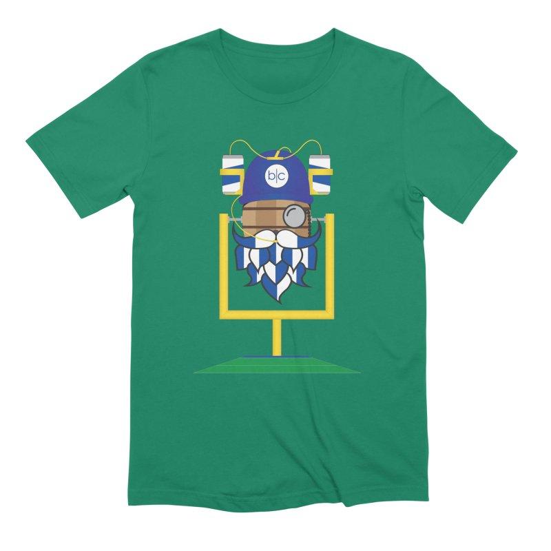 Tailgate Hoppy Men's Extra Soft T-Shirt by Barrel Chat Podcast Merch Shop