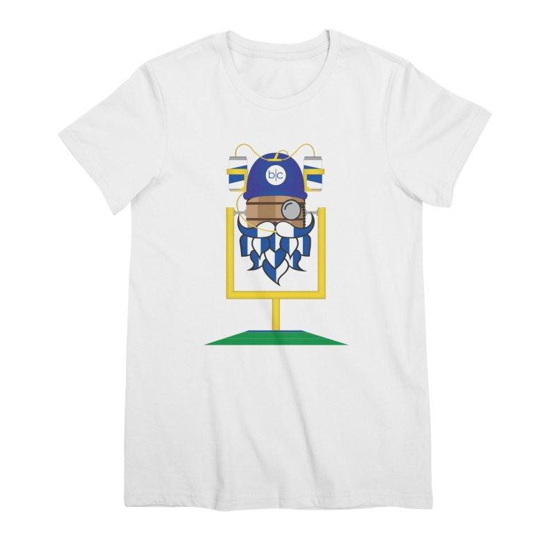 Tailgate Hoppy Women's Premium T-Shirt by Barrel Chat Podcast Merch Shop