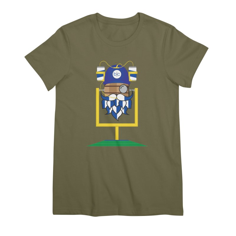 Tailgate Hoppy Women's Premium T-Shirt by Barrel Chat Podcast Merch Shop