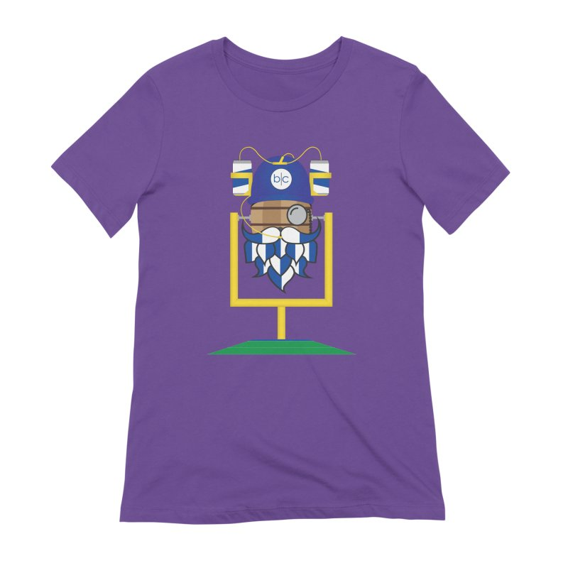 Tailgate Hoppy Women's Extra Soft T-Shirt by Barrel Chat Podcast Merch Shop