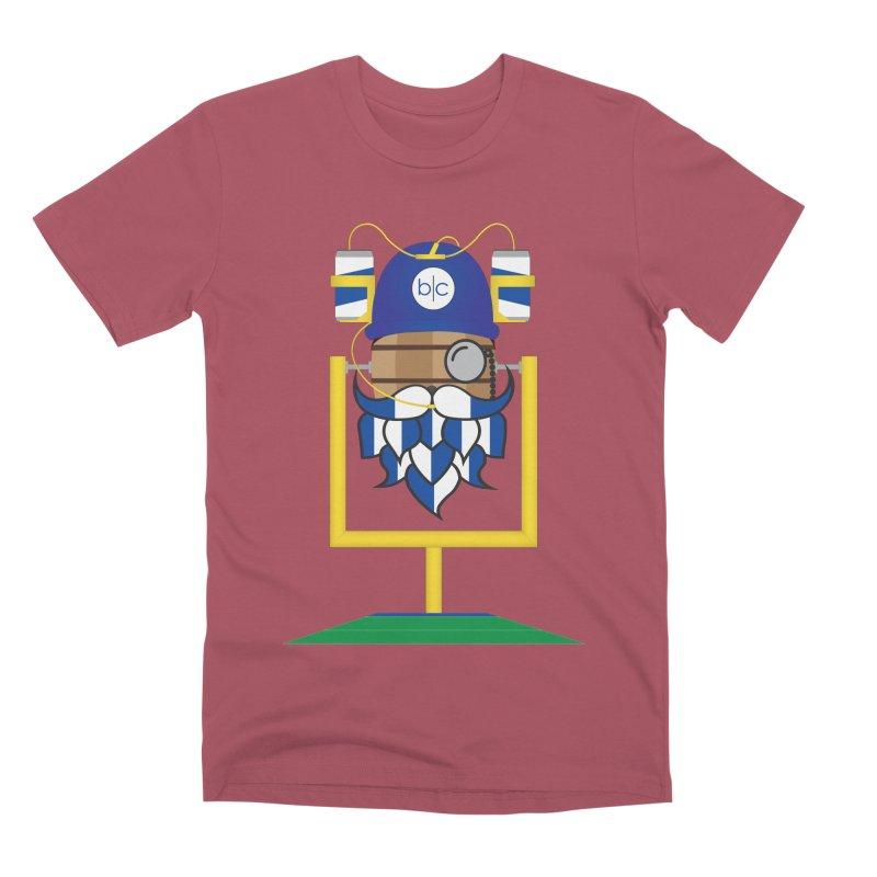Tailgate Hoppy Men's Premium T-Shirt by Barrel Chat Podcast Merch Shop