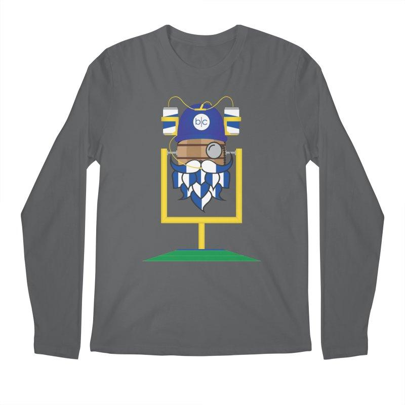 Tailgate Hoppy Men's Longsleeve T-Shirt by Barrel Chat Podcast Merch Shop