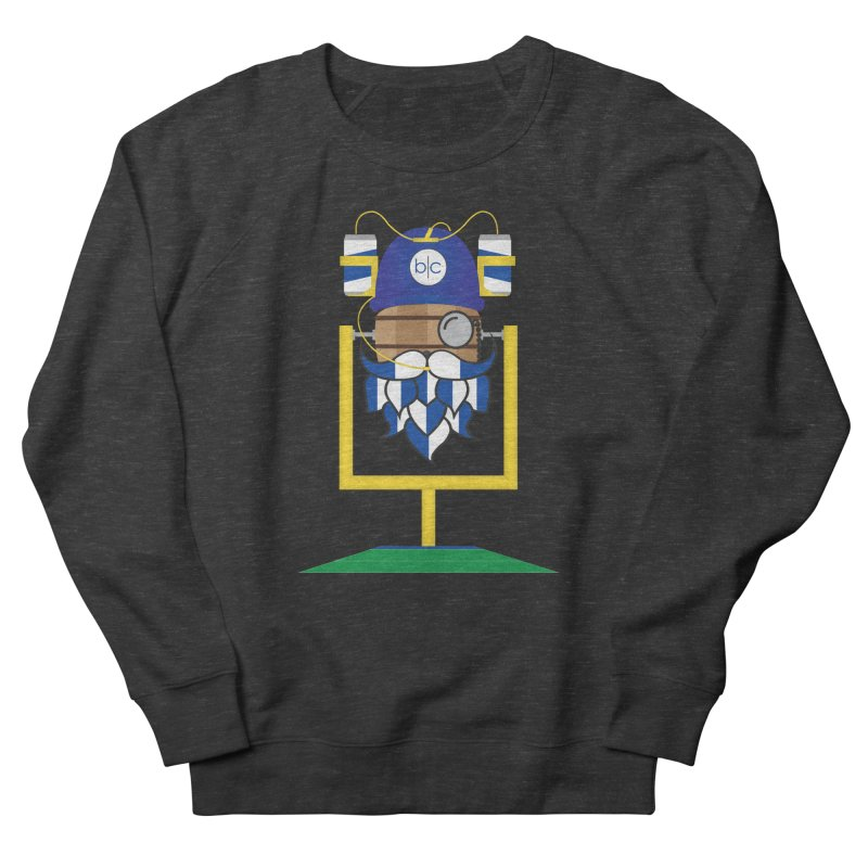 Tailgate Hoppy Men's French Terry Sweatshirt by Barrel Chat Podcast Merch Shop