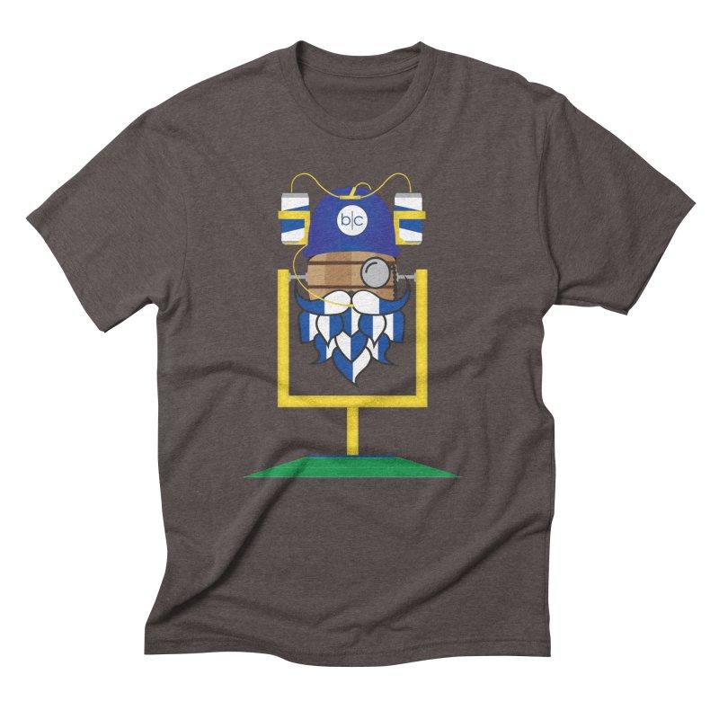 Tailgate Hoppy Men's Triblend T-Shirt by Barrel Chat Podcast Merch Shop