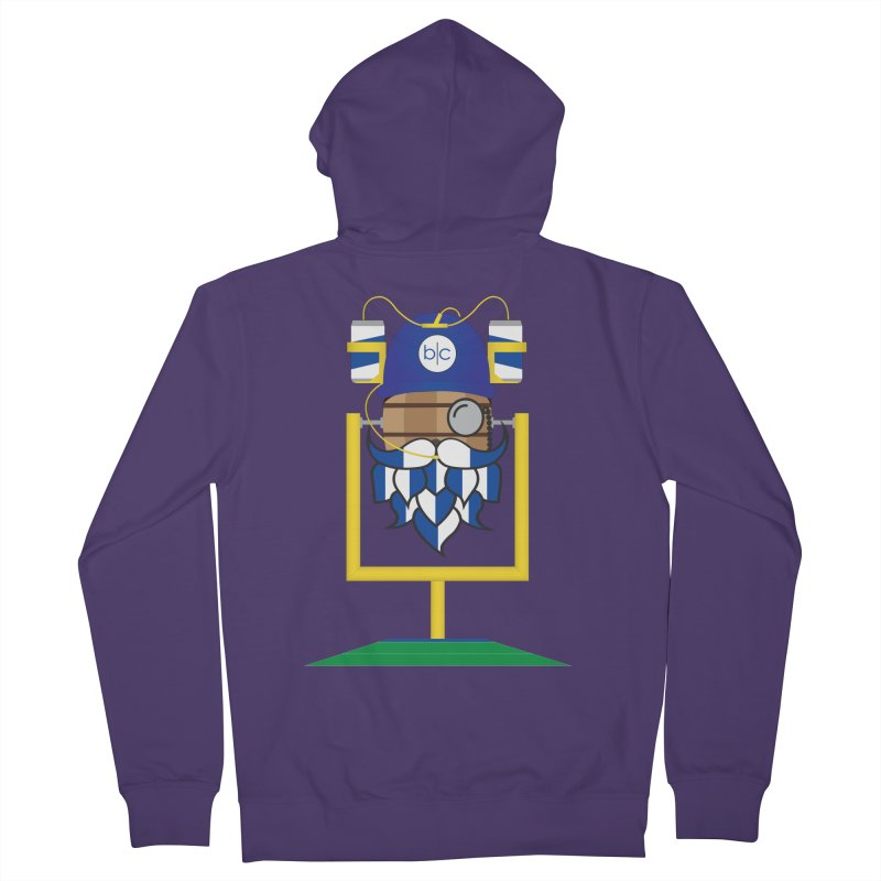 Tailgate Hoppy Women's French Terry Zip-Up Hoody by Barrel Chat Podcast Merch Shop