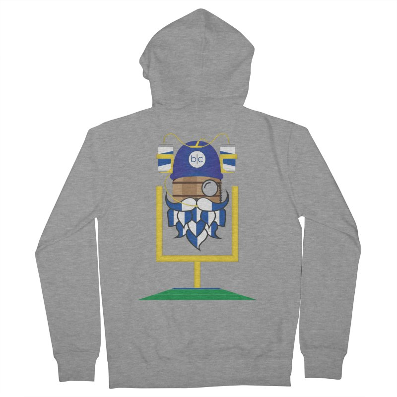 Tailgate Hoppy Men's French Terry Zip-Up Hoody by Barrel Chat Podcast Merch Shop