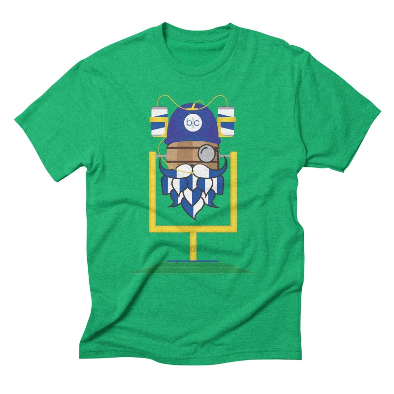 Tailgate Hoppy Men's Triblend T-Shirt by Barrel Chat Podcast Merch Shop