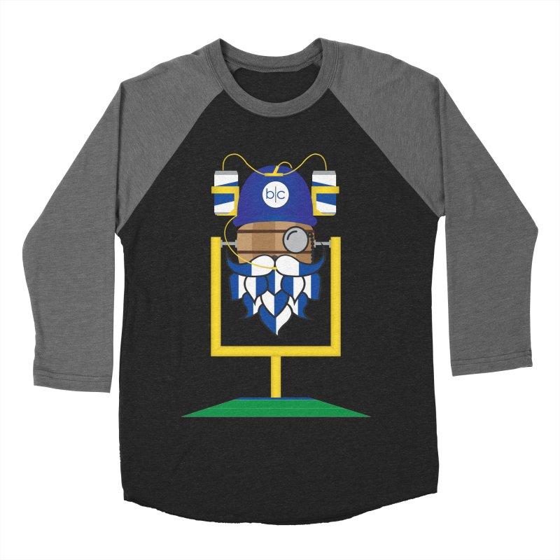 Tailgate Hoppy Men's Baseball Triblend Longsleeve T-Shirt by Barrel Chat Podcast Merch Shop
