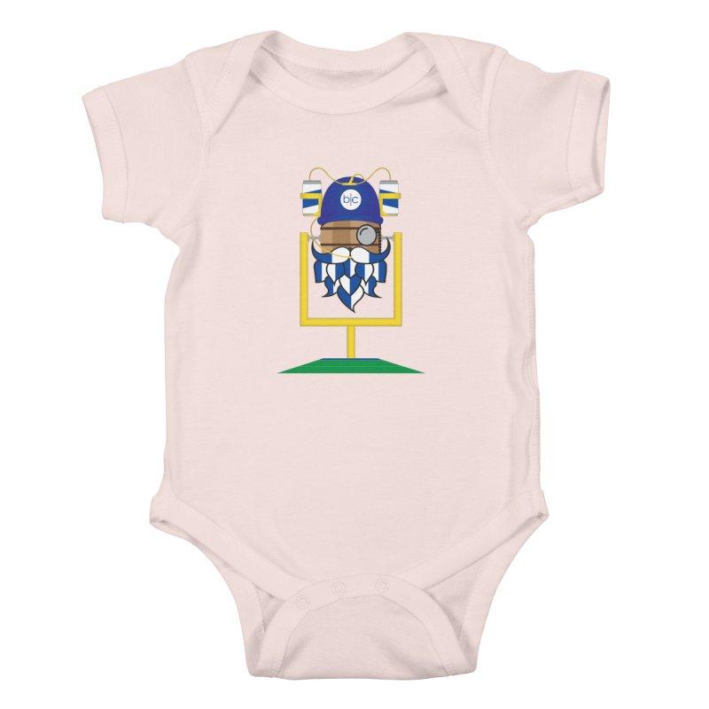 Tailgate Hoppy Kids Baby Bodysuit by Barrel Chat Podcast Merch Shop