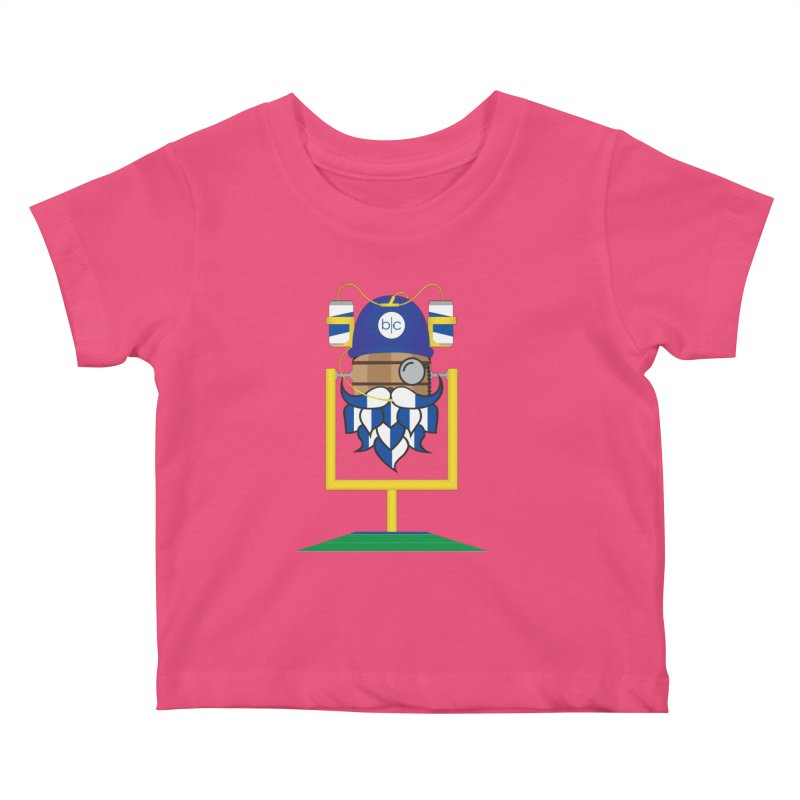 Tailgate Hoppy Kids Baby T-Shirt by Barrel Chat Podcast Merch Shop