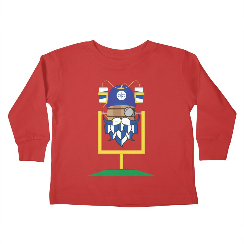 Tailgate Hoppy Kids Toddler Longsleeve T-Shirt by Barrel Chat Podcast Merch Shop