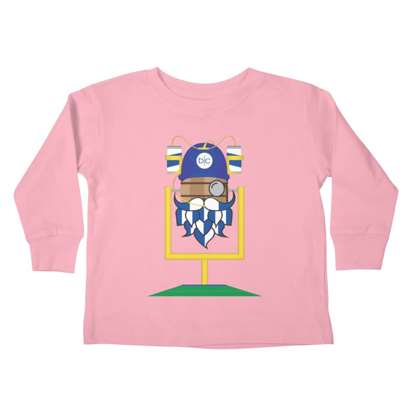 Tailgate Hoppy Kids Toddler Longsleeve T-Shirt by Barrel Chat Podcast Merch Shop