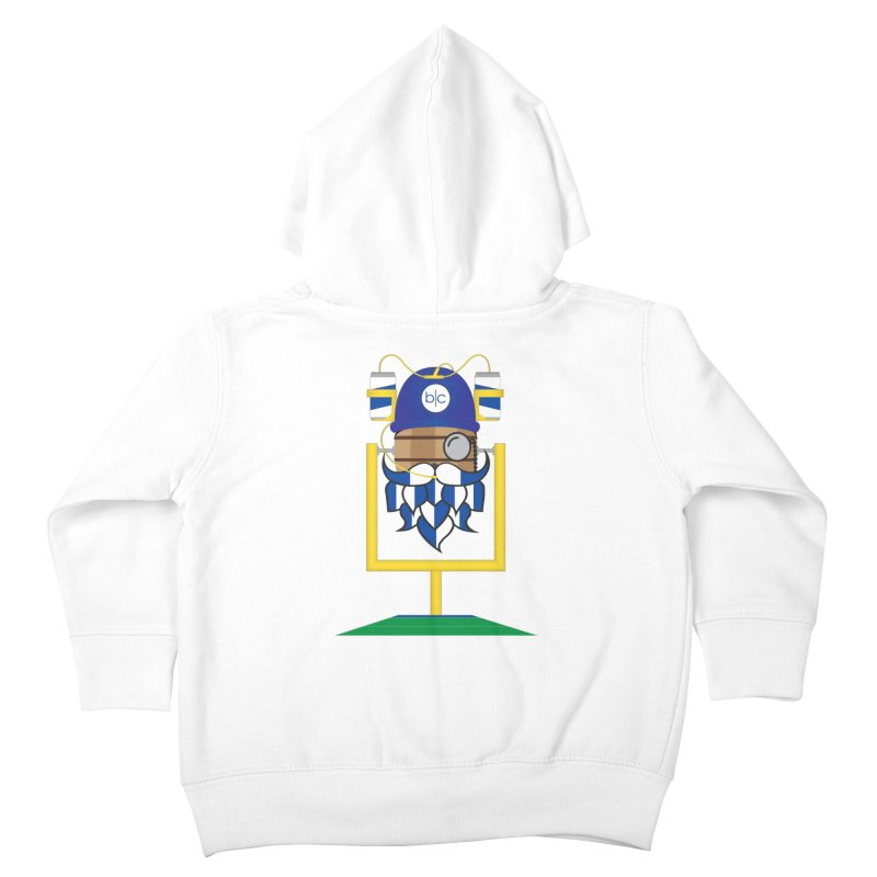 Tailgate Hoppy Kids Toddler Zip-Up Hoody by Barrel Chat Podcast Merch Shop