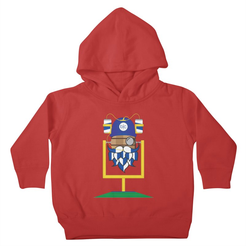 Tailgate Hoppy Kids Toddler Pullover Hoody by Barrel Chat Podcast Merch Shop