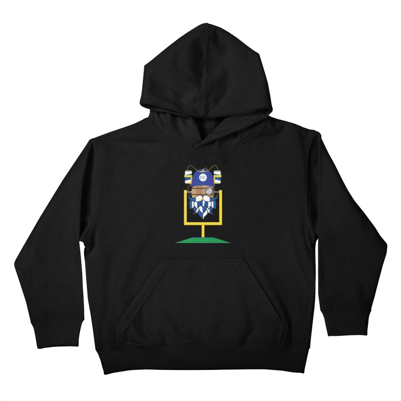 Tailgate Hoppy Kids Pullover Hoody by Barrel Chat Podcast Merch Shop