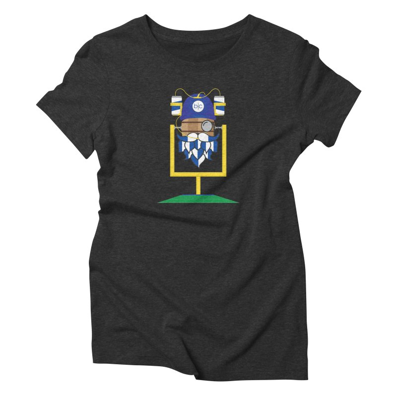 Tailgate Hoppy Women's Triblend T-Shirt by Barrel Chat Podcast Merch Shop