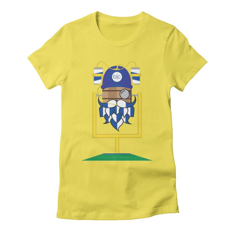 Tailgate Hoppy Women's Fitted T-Shirt by Barrel Chat Podcast Merch Shop