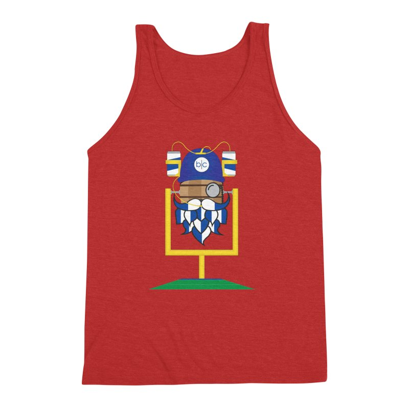 Tailgate Hoppy Men's Triblend Tank by Barrel Chat Podcast Merch Shop