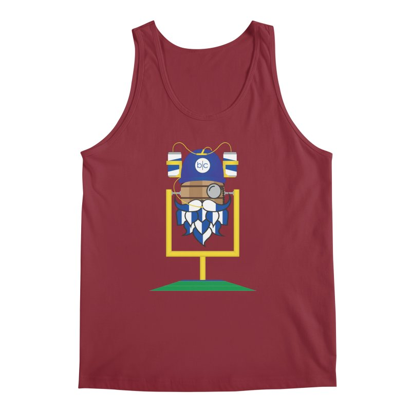 Tailgate Hoppy Men's Tank by Barrel Chat Podcast Merch Shop