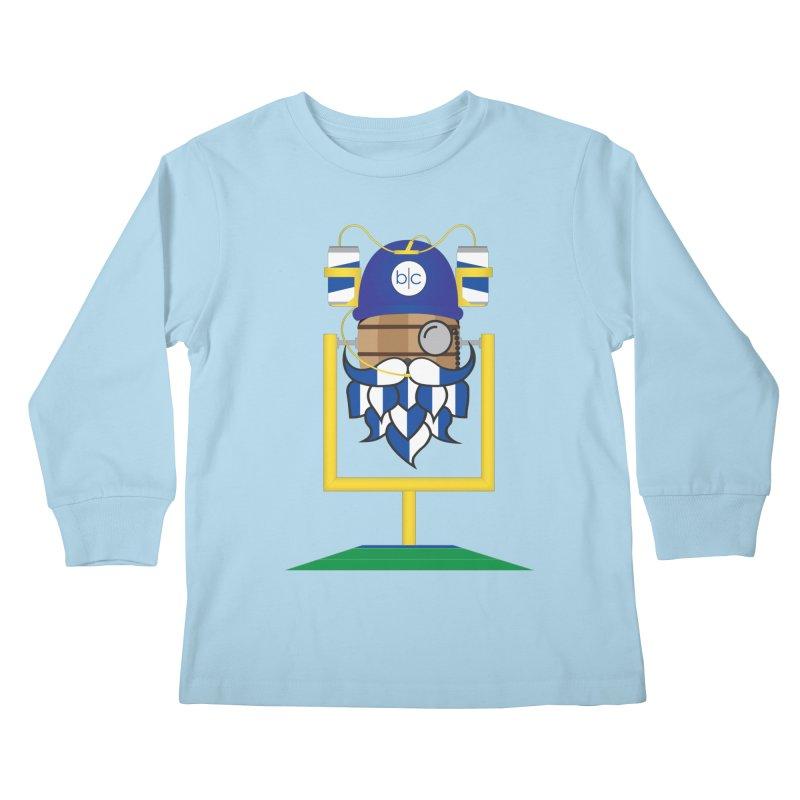 Tailgate Hoppy Kids Longsleeve T-Shirt by Barrel Chat Podcast Merch Shop