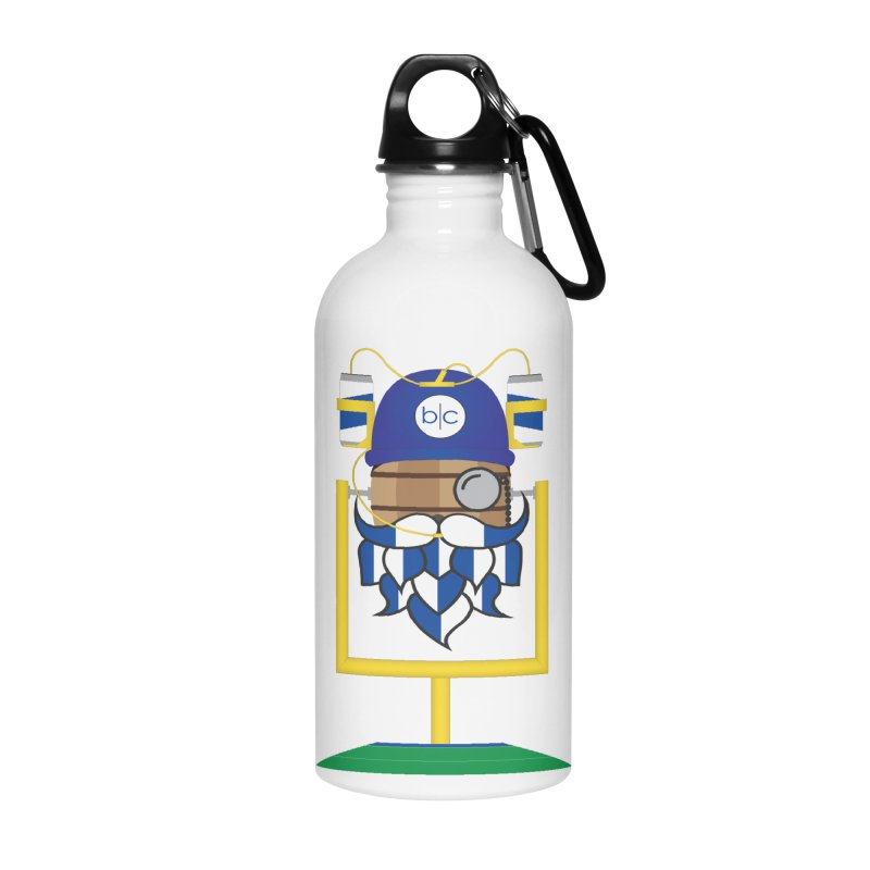 Tailgate Hoppy Accessories Water Bottle by Barrel Chat Podcast Merch Shop