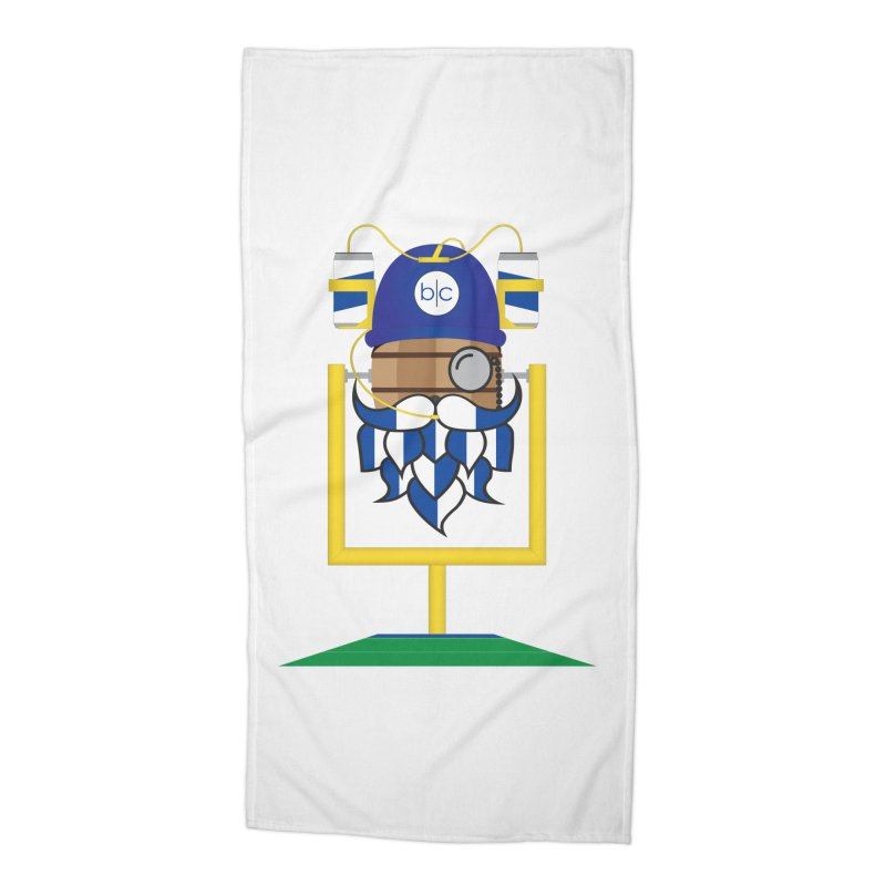 Tailgate Hoppy Accessories Beach Towel by Barrel Chat Podcast Merch Shop