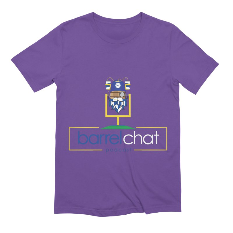 Barrel chat Podcast - Tailgate Men's Extra Soft T-Shirt by Barrel Chat Podcast Merch Shop