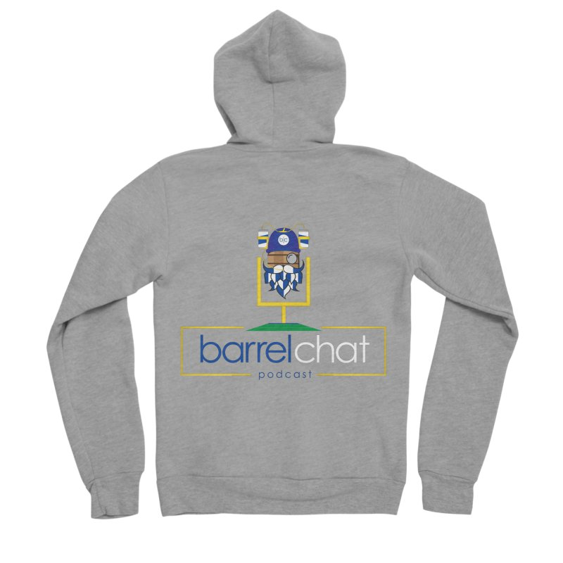 Barrel chat Podcast - Tailgate Men's Sponge Fleece Zip-Up Hoody by Barrel Chat Podcast Merch Shop