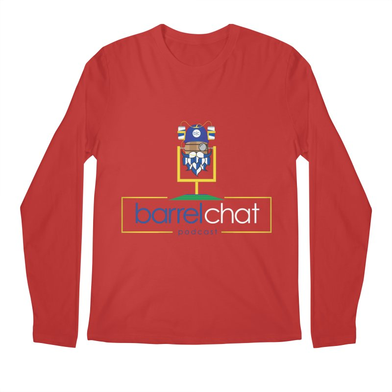 Barrel chat Podcast - Tailgate Men's Regular Longsleeve T-Shirt by Barrel Chat Podcast Merch Shop