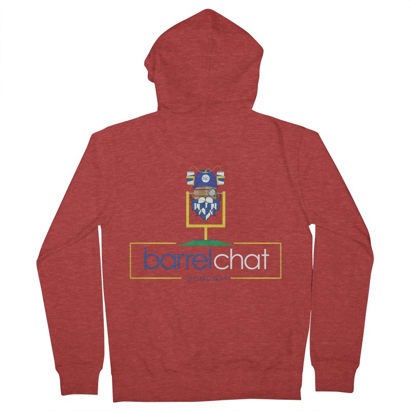 Barrel chat Podcast - Tailgate Men's French Terry Zip-Up Hoody by Barrel Chat Podcast Merch Shop