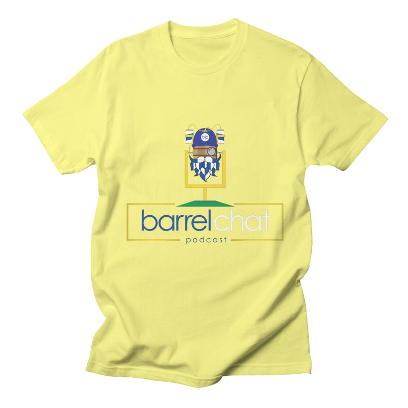 Barrel chat Podcast - Tailgate Men's Regular T-Shirt by Barrel Chat Podcast Merch Shop