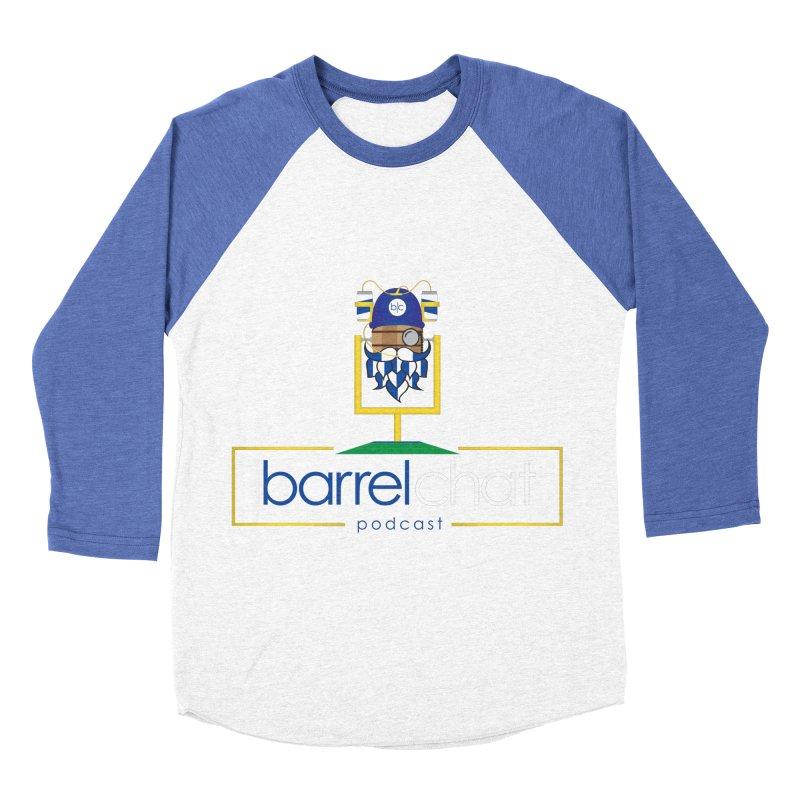 Barrel chat Podcast - Tailgate Women's Baseball Triblend Longsleeve T-Shirt by Barrel Chat Podcast Merch Shop