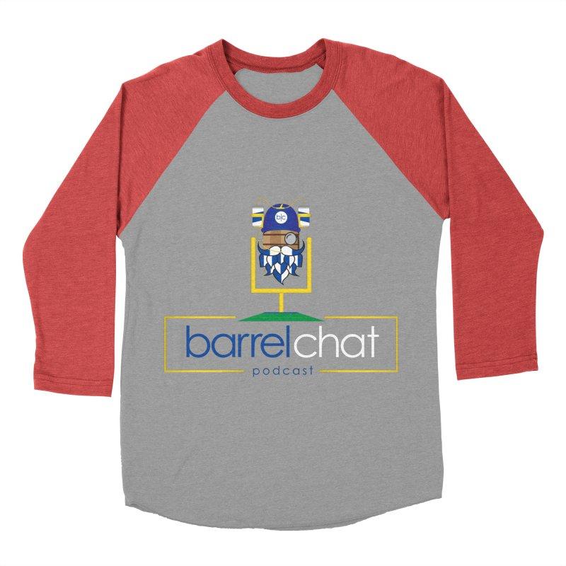 Barrel chat Podcast - Tailgate Men's Baseball Triblend Longsleeve T-Shirt by Barrel Chat Podcast Merch Shop