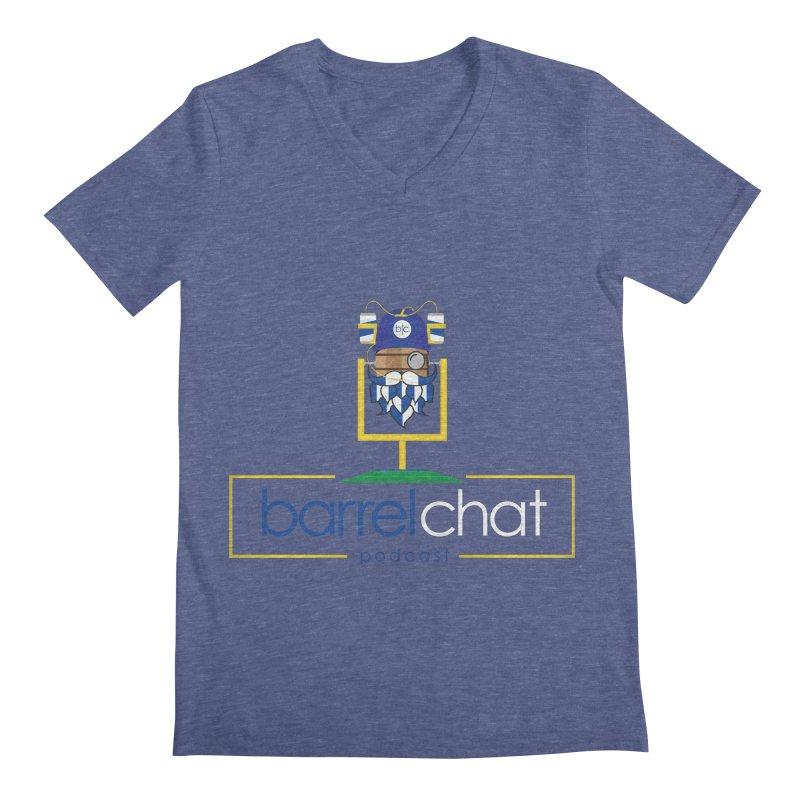Barrel chat Podcast - Tailgate Men's Regular V-Neck by Barrel Chat Podcast Merch Shop