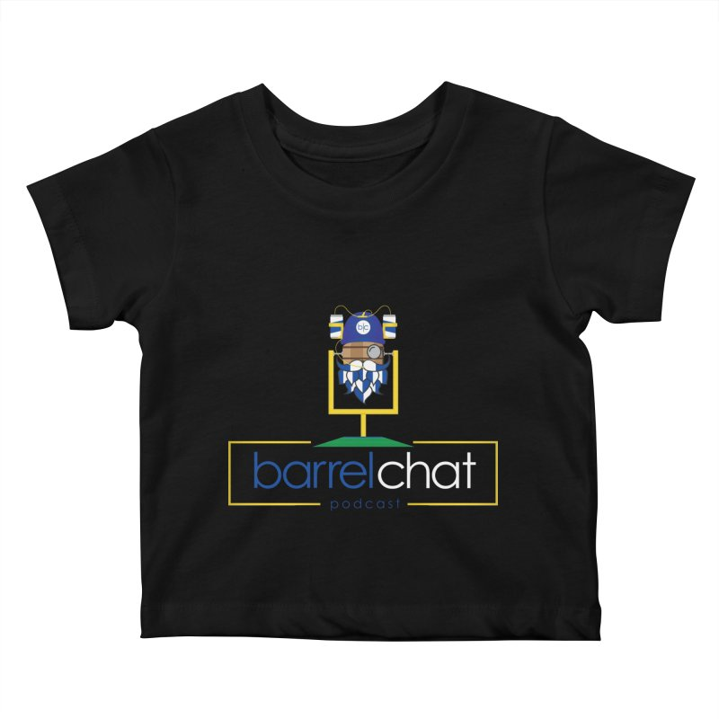 Barrel chat Podcast - Tailgate Kids Baby T-Shirt by Barrel Chat Podcast Merch Shop