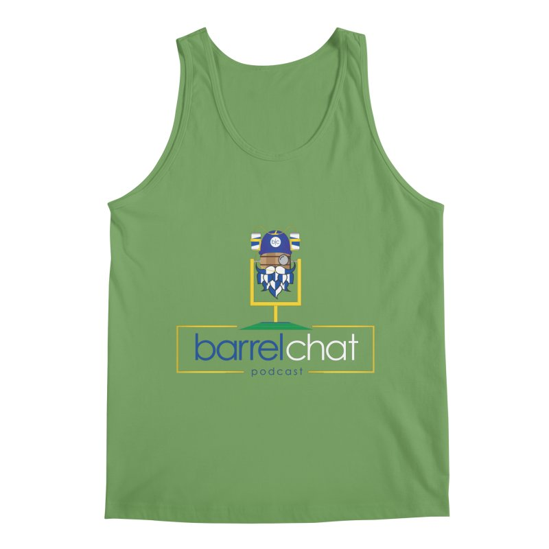 Barrel chat Podcast - Tailgate Men's Tank by Barrel Chat Podcast Merch Shop