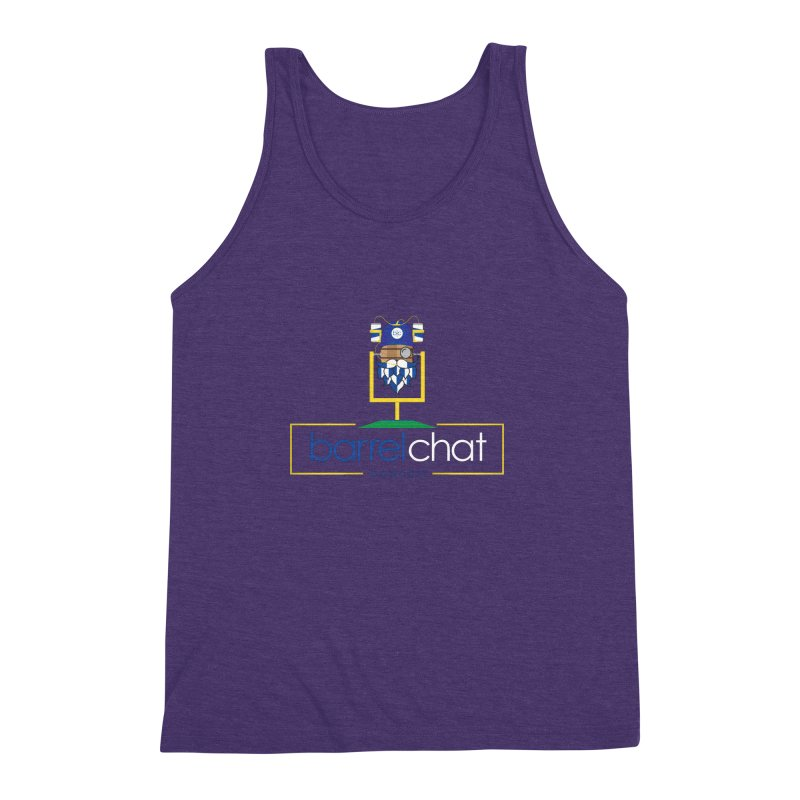 Barrel chat Podcast - Tailgate Men's Triblend Tank by Barrel Chat Podcast Merch Shop