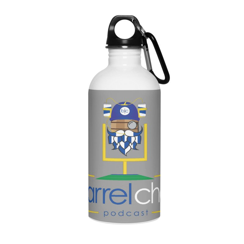 Barrel chat Podcast - Tailgate Accessories Water Bottle by Barrel Chat Podcast Merch Shop