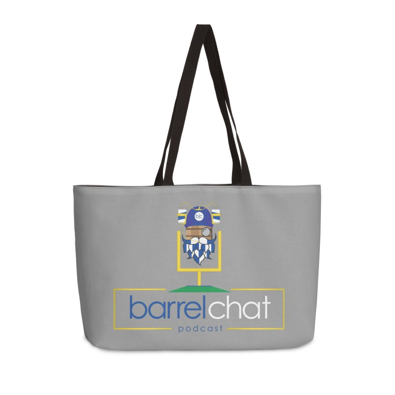 Barrel chat Podcast - Tailgate Accessories Weekender Bag Bag by Barrel Chat Podcast Merch Shop