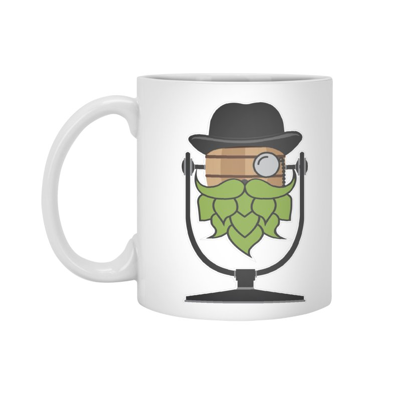 Hoppy (Dark Shirts) Accessories Mug by Barrel Chat Podcast Merch Shop