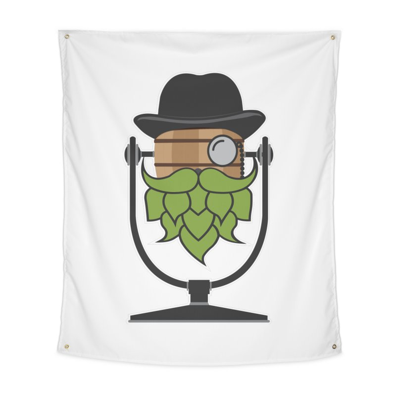 Hoppy (Dark Shirts) Home Tapestry by Barrel Chat Podcast Merch Shop