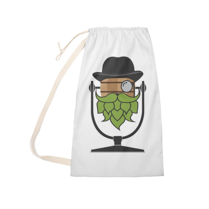Hoppy (Dark Shirts) Accessories Laundry Bag Bag by Barrel Chat Podcast Merch Shop