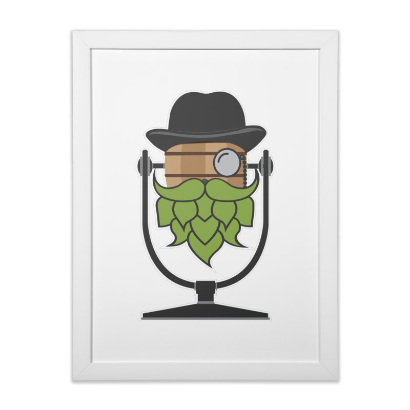 Hoppy (Dark Shirts) Home Framed Fine Art Print by Barrel Chat Podcast Merch Shop