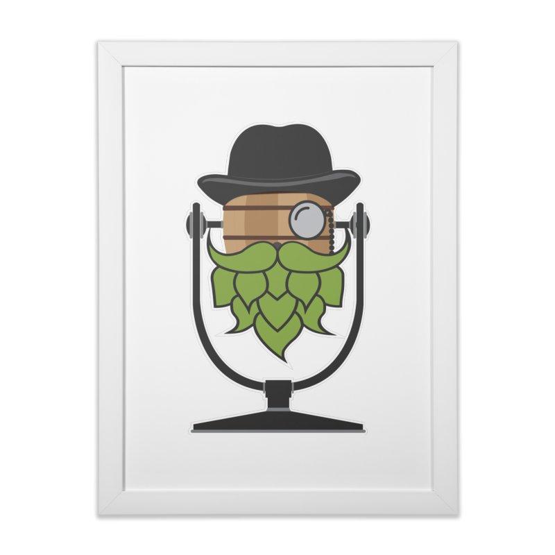 Hoppy (Dark Shirts) Home Framed Fine Art Print by Barrel Chat Podcast Merch Shop