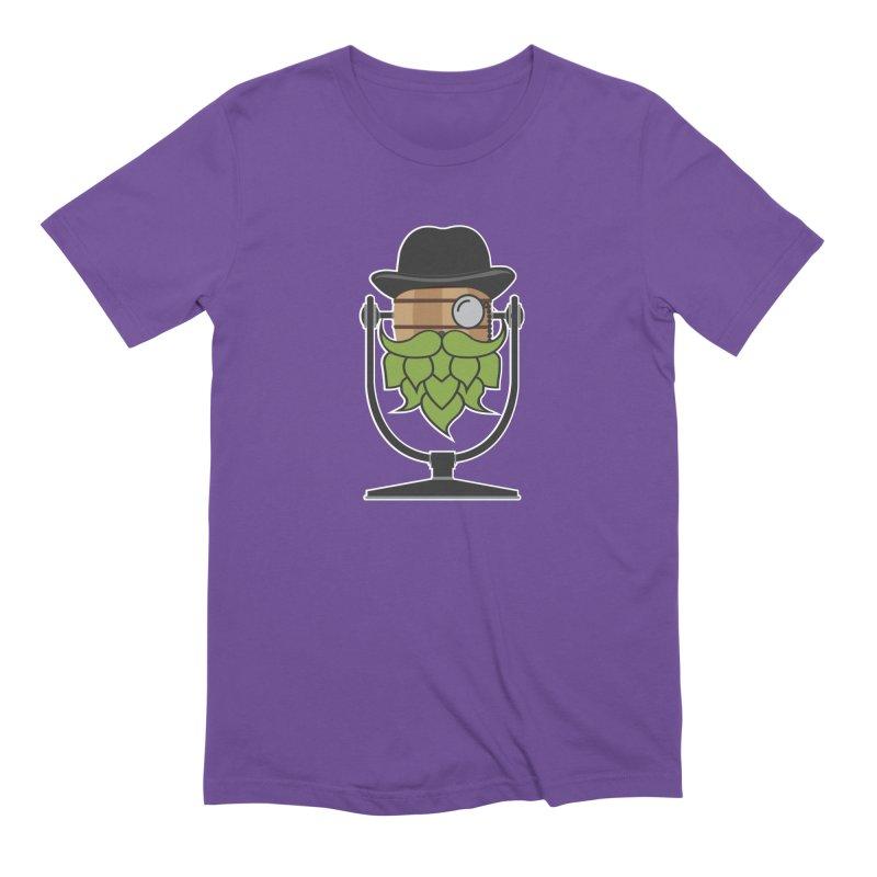Hoppy (Dark Shirts) Men's Extra Soft T-Shirt by Barrel Chat Podcast Merch Shop