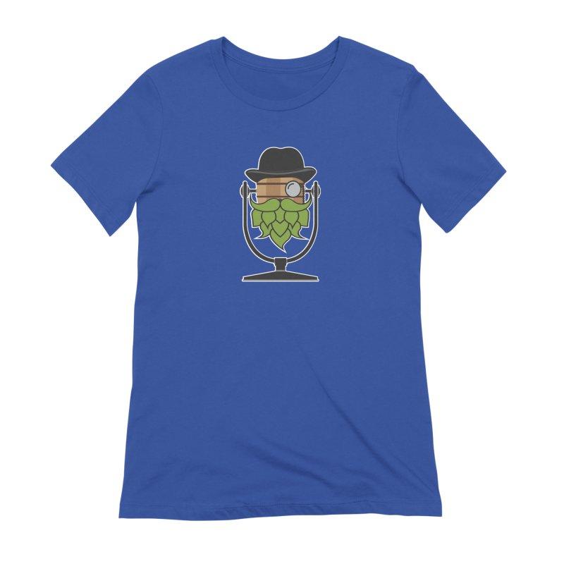 Hoppy (Dark Shirts) Women's Extra Soft T-Shirt by Barrel Chat Podcast Merch Shop