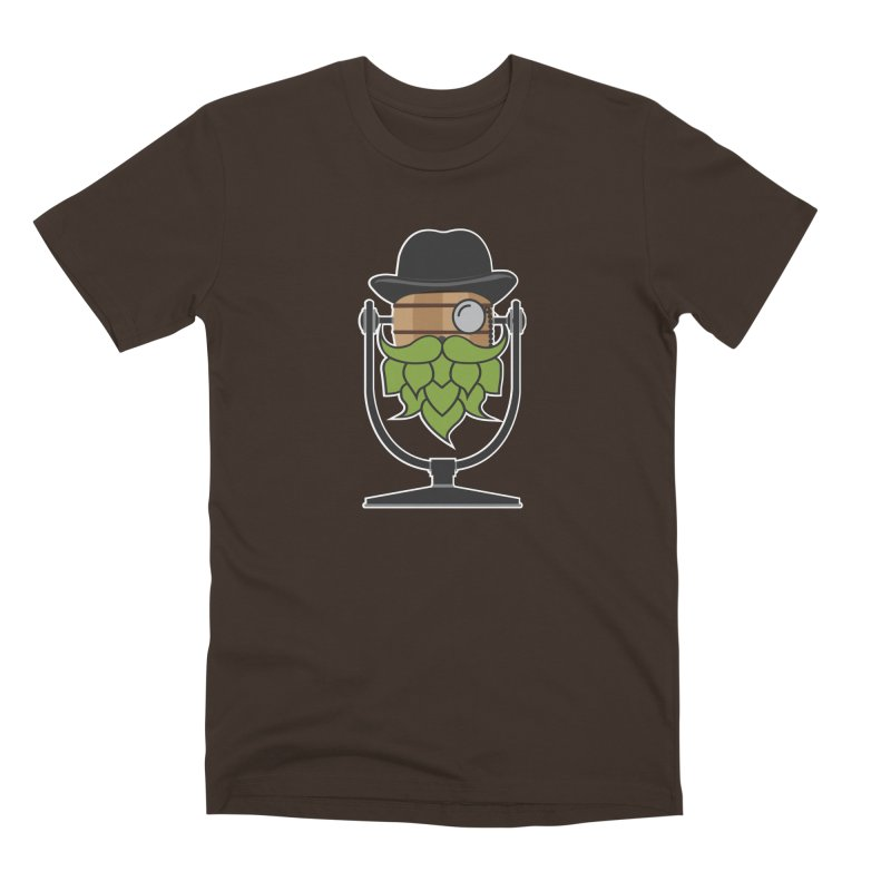 Hoppy (Dark Shirts) Men's Premium T-Shirt by Barrel Chat Podcast Merch Shop