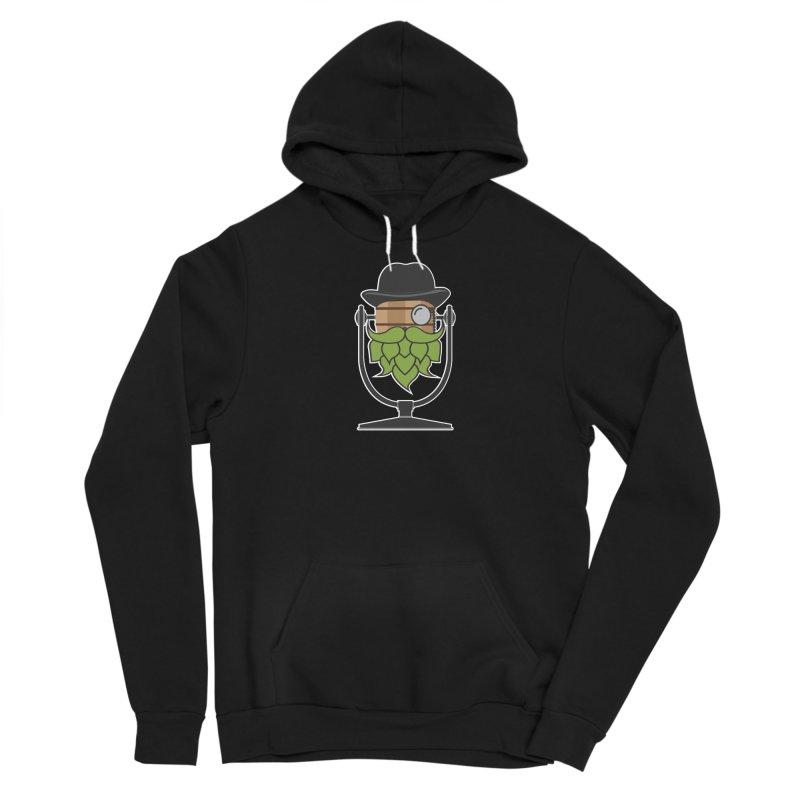 Hoppy (Dark Shirts) Men's Sponge Fleece Pullover Hoody by Barrel Chat Podcast Merch Shop