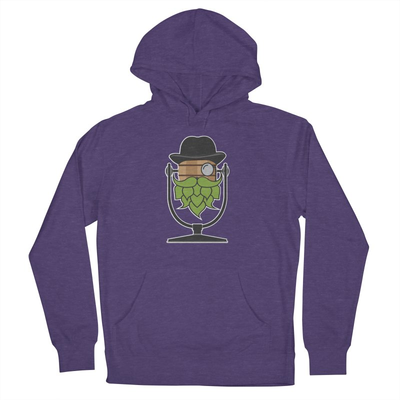 Hoppy (Dark Shirts) Women's French Terry Pullover Hoody by Barrel Chat Podcast Merch Shop